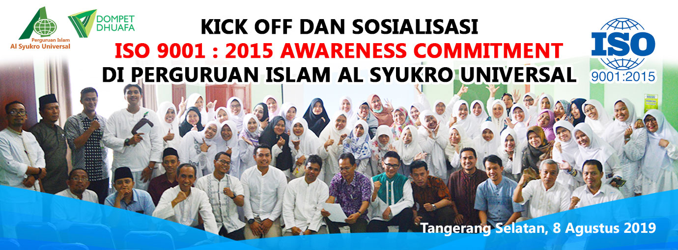 Kick Off dan Sosialisasi ISO 9001 : 2015 Awareness